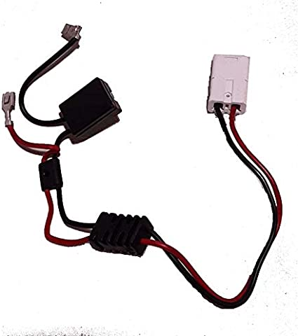 [SCHEMATICS_48ZD]  Amazon.com: X PWR 12 Volt Battery Wiring Harness for 12V Rollplay Chevy  Colorado GMC Sierra Mercedes Coupe Children Powered Ride On Car with White  Plug: Toys & Games | 12 Volt Battery Wire Harness |  | Amazon.com