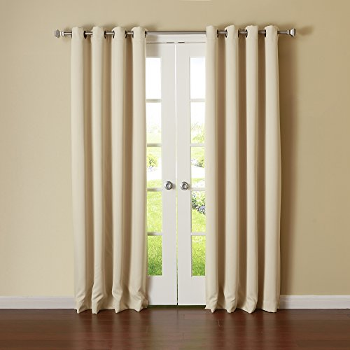 Best Home Fashion Thermal Insulated Blackout Curtains - - Thermal Back Curtains