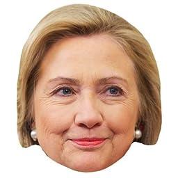 Hilary Clinton Celebrity Mask, Cardboard Face and Fancy Dress Mask