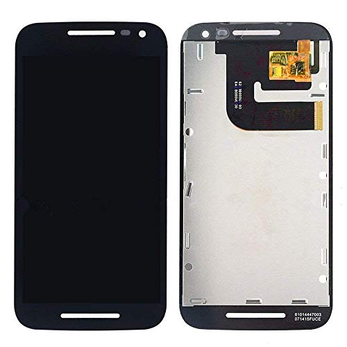 (LCD Display+Touch Screen Assembly for Black Motorola Moto G 3rd Gen 2015 XT1540 XT1541)