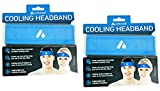 Atomi Activcool Instant Cooling Headband (2 Pack)
