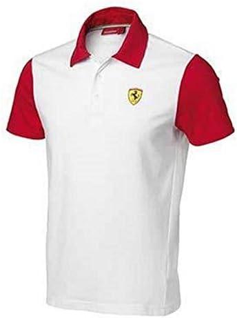 Ferrari Polo Hombre Bicolor: Amazon.es: Coche y moto