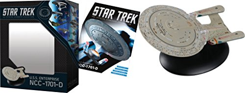 Star Trek The Official Starships Collection #1: USS Enterprise NCC-1701D Ship Replica