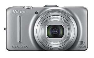 Nikon Coolpix S9300 16.0 MP Digital Camera - Silver