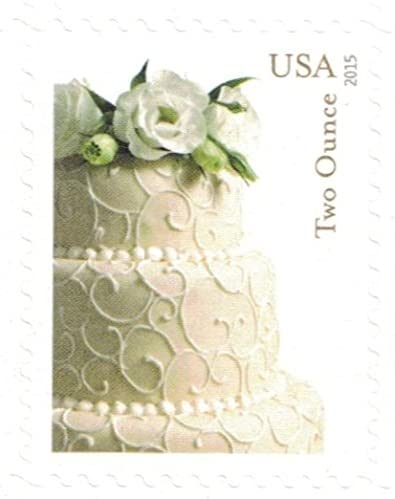 USPS Wedding Cake 10-Cent Two-Ounce Stamp Sheet of 10 (10 Ounce Rate)