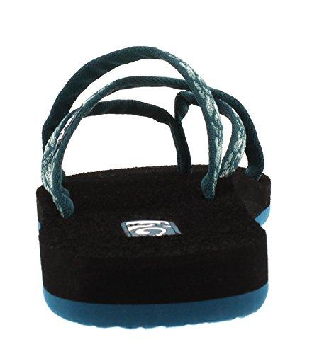 Olowahu Sandals Thong 868 Teva hazel Blau Blue Women's BOw6nqdxF