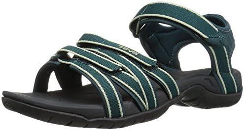 Teva Women's Tirra Sandal|,| Teal/Dark Shado|,| 5.5 Medium US