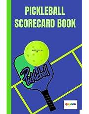 Pickleball Score Book: Pickleball Book for Recording Match Scores, Pickleball Game Book: Pickleball Scorecard Book For Recording Scores and Logging Opponents Strengths & Weaknesses Pickleball Logbook, Pickleball Journal for Scoring Matches