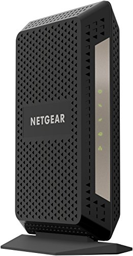 NETGEAR Gigabit Cable Modem (32x8) DOCSIS 3.1 | for XFINITY by Comcast, Cox. Compatible with Gig-Speed from Xfinity (CM1000-1AZNAS)