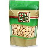 Macadamia Nuts Raw Unsalted - Large Hawaiian Raw Macadamias, Heart Healthy Snack 1 LB BAG - Oh! Nuts
