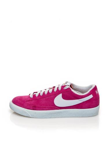 Nike  Blazer Low Prm (Vntg Suede),  Herren Sneakers Fuchsia