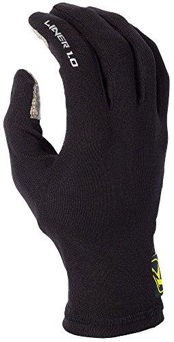 [Klim Liner 1.0 Men's MotoX Motorcycle Gloves - Black / X-Large] (Motorcycle Glove Liners)