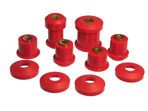 Prothane 6-312 Red Rear Upper and Lower Control Arm Bushing Kit