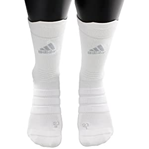 adidas Alphaskin Lightweight Cushioned Crew Socks (1 Pack)