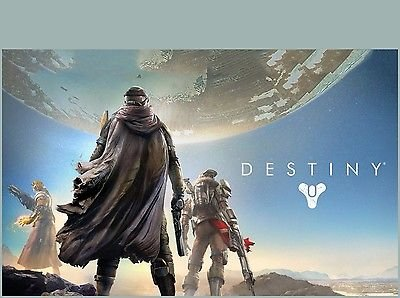 SDore DESTINY XBOX 360 One PS4 PS3 Birthday Party 1/4 Sheet Image Frosting Cake Topper - Xbox Edible Images