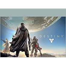 SDore DESTINY XBOX 360 One PS4 PS3 Birthday Party 1/2 Half Sheet Image Frosting Cake Topper