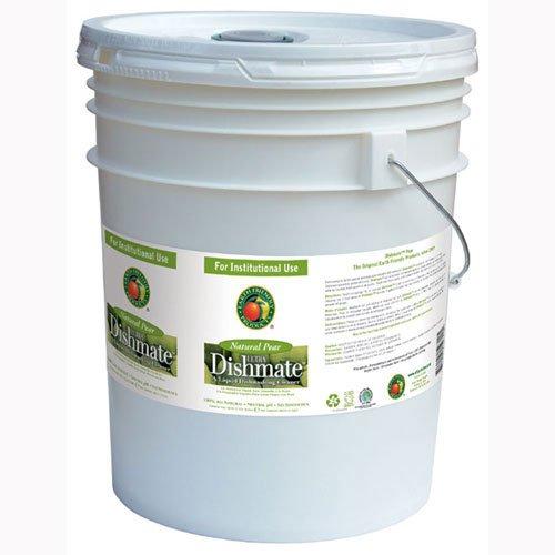 Dishmate Manual Dishwashing Liquid Pear,5 gallon pail - 1 (Dishwashing Liquid 5 Gallon Pail)