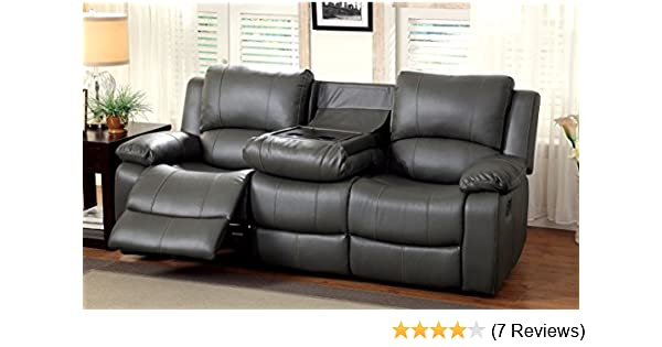 Amazon Com Furniture Of America Robyn 2 Recliner Sofa Kitchen Dining