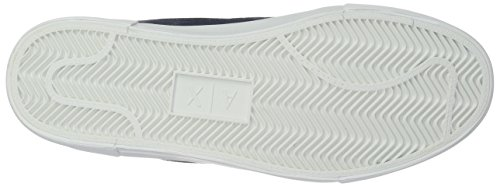 Armani Sneaker with Top Exchange Detail Mens Strap X Sky and High 9550337A047 Mesh Captain Ankle A 05CqAxg
