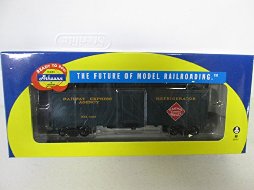 Reefer Express (2011 Horizon Hobby Inc Athearn Trains HO Scale Railway Express Agency 40' Steel Reefer 6123)