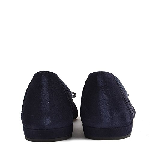 Elia B Zapatos Sofia Mocasines Azul Mujer Azul