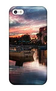 Case Cover/Case For Samsung Galaxy S3 i9300 Cover Defender Case Cover(sunset Building Reflections Beautiful Town Water Sundown Nature Other)