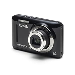 "Kodak PIXPRO Friendly Zoom FZ53 16 MP Digital Camera with 5X Optical Zoom and 2.7"" LCD Screen (Black)"