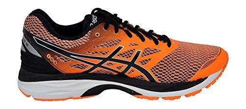 Synthétique Asics Chaussure De Orange Gel Cumulus black 18 Course Hot white tpqn6CqxW