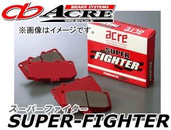 アクレ/ACRE ブレーキパッド リア スーパーファイター 659 スバル アウトバック BP9 2500cc