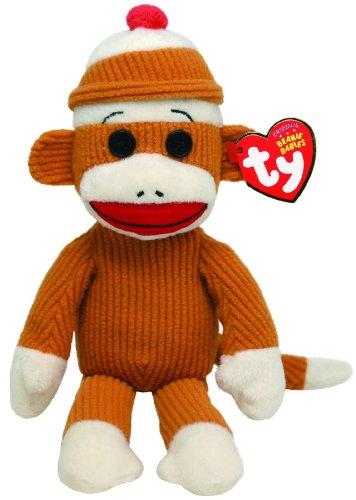 (Ty Beanie Babies Socks Monkey (Tan))