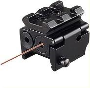 Higoo Mini Compact Pistol Hunting Rifle Scope Red Dot Laser Sight fit Picatinny Rail