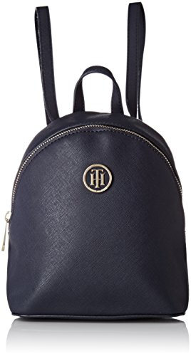 Tommy Hilfiger Honey Micro Backpack Crossover - Borse a zainetto Donna, Bleu (Tommy Navy), 7.5x23x15.5 cm (W x H L)