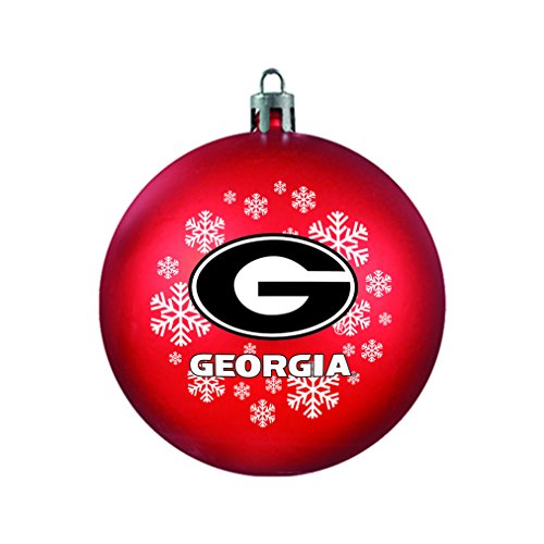 - NCAA Georgia Bulldogs Shatterproof Ornament