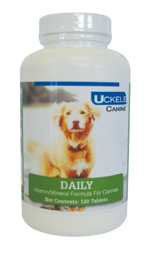Uckele 120-Piece Canine Daily Chewable Tablet for Pets Review