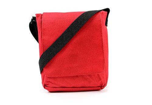 SHOULDER TRAVEL MAN BAG BAG BAG COMPACT Red MUSIC HOLIDAY WOVEN MESSENGER UNISEX axqvpIE