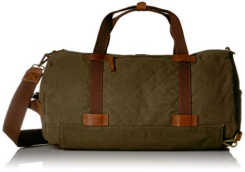 Timberland Men's Nantasket Duffel Bag Convertible Backpack Combo, Olive Night, One Size