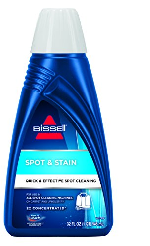 BISSELL 2X Spot & Stain Portable Machine Formula, 32 ounces, 79B9