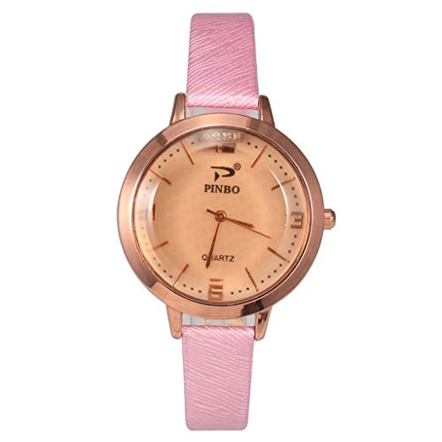 - chenqiu Female Student Casual Quartz Watch, Simple Fashion Convex Small Fresh Outdoor Waterproof Student Exquisite Watch