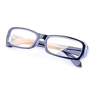 G&T Unisex Anti Computer Radiation Glasses Fashion Clear Lens UV Protection Glasses(C4)
