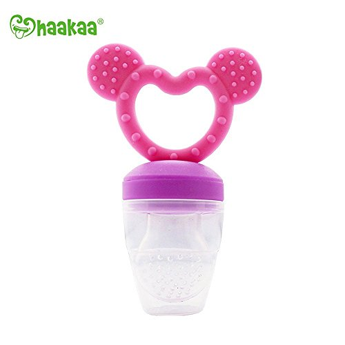 Haakaa Silicone Fresh Food Feeder and Teether PVC, BPA Free