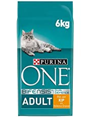 Purina ONE BIFENSIS Adult Kattendroogvoer, versterkt natuurlijke afweer voor gezonde botten, huid, tanden en urinewegen I vanaf 1 jaar