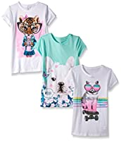 The Children's Place Big Girls' Animal F...