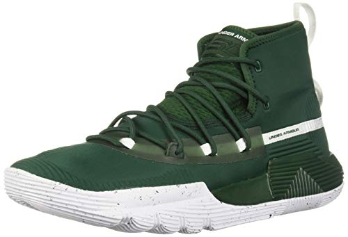1a92dbcc02e4 Under Armour Men s SC 3ZER0 II Basketball Shoe Forest Green (300) White 11