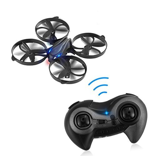 LESHP 2.4GHz 4CH Wireless Drone RC Quadcopter Remote Control Helicopter with 3D 360 Degree Flips & Rolls 6-Axis Gyro, Height Hold Steady Super Easy Fly for Training