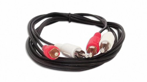 Your Cable Store 6 Foot RCA Audio Red/White Cable 2 Male To 2 Male ()