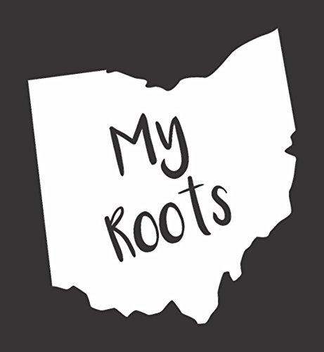 Barking Sand Designs Ohio My Roots - Die Cut Vinyl Window Decal/Sticker for Car/Truck 5