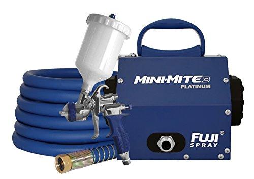 Fuji 2803-T75G Mini-Mite 3 PLATINUM - T75G Gravity HVLP Spray System - Fine Spray System