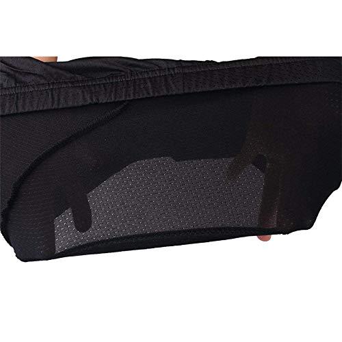 Cintura 28.5 Pulgadas -30 Pulgadas Pequeno Hombres Y Mujeres Cikuso Pantalones Cortos De Ropa Interior De Bicicleta Acolchada 3D -Respirable Ligero