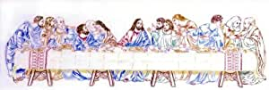 Stamped Cross Stitch Kit The Last Supper From Design Works
