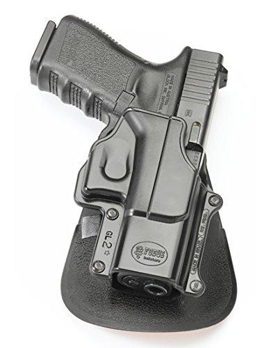 Gl2 Fobus Paddle Holster - FOBUS GL2-ND RT ROTO Black Right Hand RH Gun ROTO Holster for Glock 17 18 19 22 23 25 26 31 32 34 35